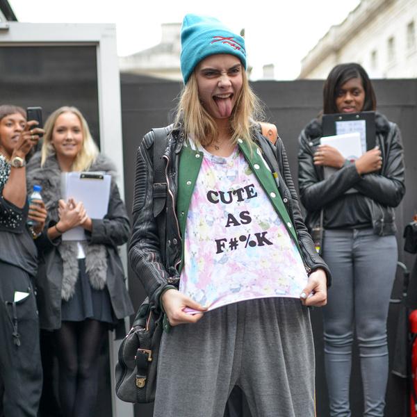 Фото №32 - Фейспалм и губы уточкой: самые смешные фото Кары Делевинь