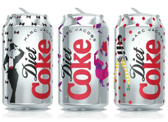 Фото №1 - Марк Джейкобс разработал дизайн диетической кока-колы