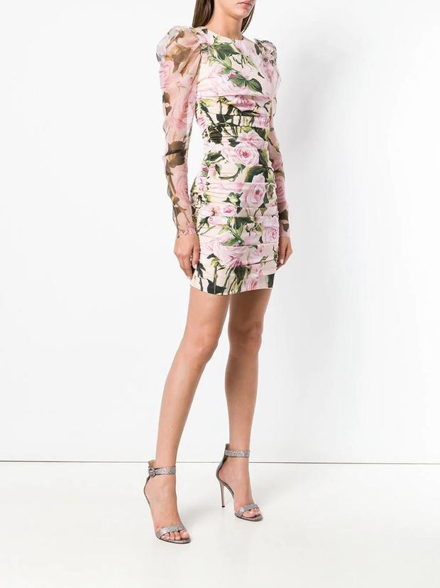 Фото №11 - 15 цветочных розовых платьев как у Селены Гомес в новом видео De Una Vez