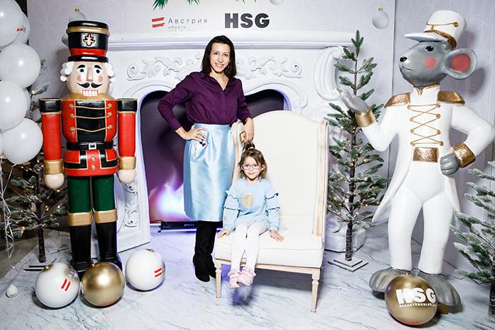 Актриса Елена Борщева с дочкой. Фото: Андрей Калмыков