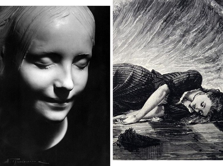 Фото №1 - Парижская Офелия: как таинственная утопленница из Сены спасла тысячи жизней