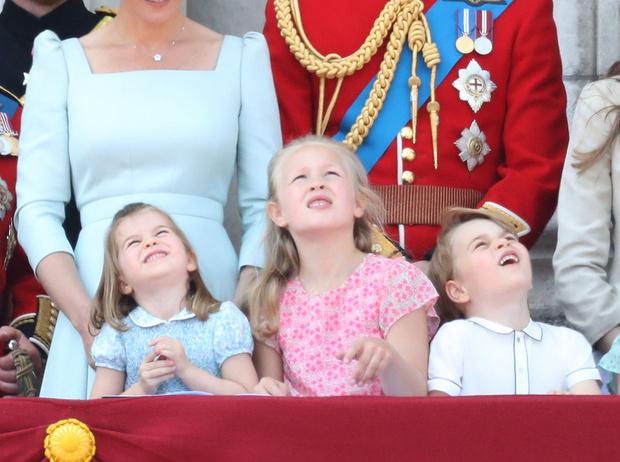 Фото №3 - Кто эта девочка, затмившая принца Джорджа и принцессу Шарлотту