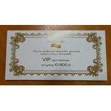 Сертификат в салон массажа
