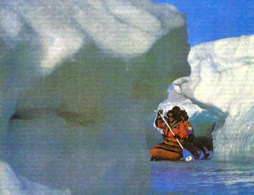 Фото №1 - На ледниковой мельнице