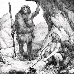 Фото №1 - Неандертальцы умели чистить зубы