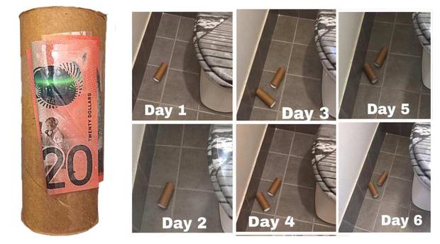Фото №1 - Австралийка разбросала деньги по дому в надежде, что муж и дети возьмутся за уборку, но те ни о чем не догадались