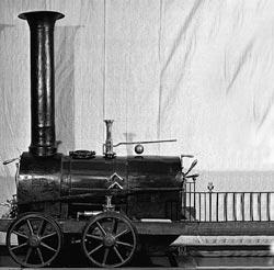 Первый русский паровоз.1834 г.