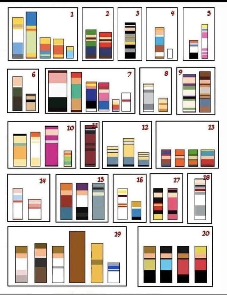 Фото №2 - 20 визуальных загадок. Угадай по форме и цвету, что изображено на картинках