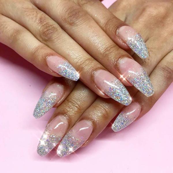 Фото №5 - Балерина: самая модная форма ногтей 2021🩰