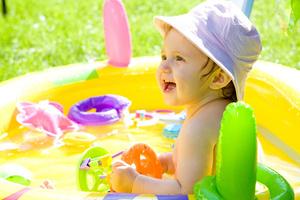 Фото №1 - Водные забавы малышей
