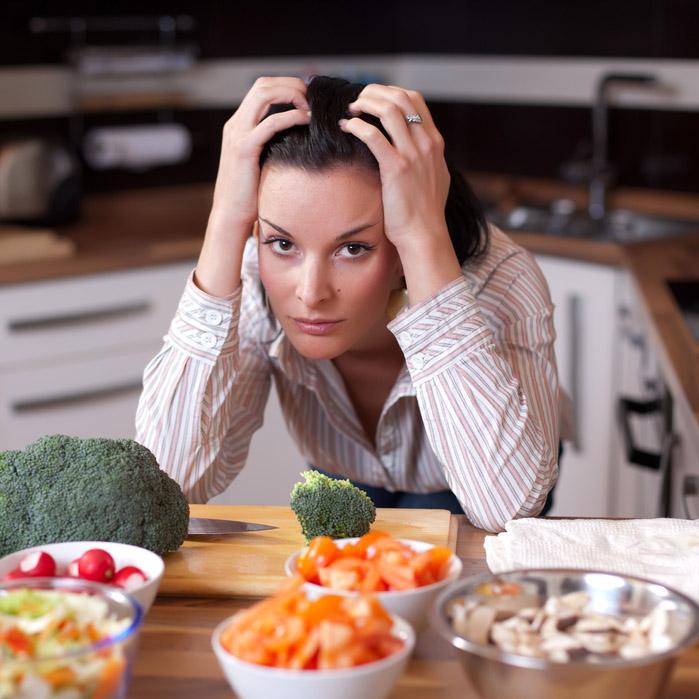 Фото №1 - Стресс замедляет метаболизм у женщин
