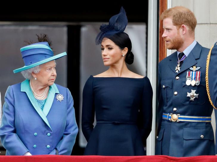 Фото №4 - Как Королева отреагировала на «оскорбительное» заявление Сассекских