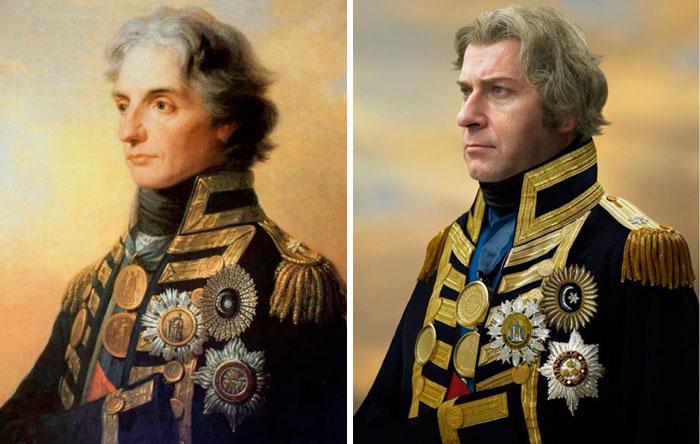 Фото №5 - Фотограф воссоздал портреты исторических личностей с их прямыми потомками: 9 лучших работ