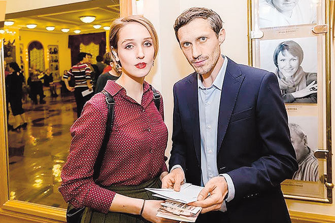 Софья Ардова и Игорь Хрипунов.