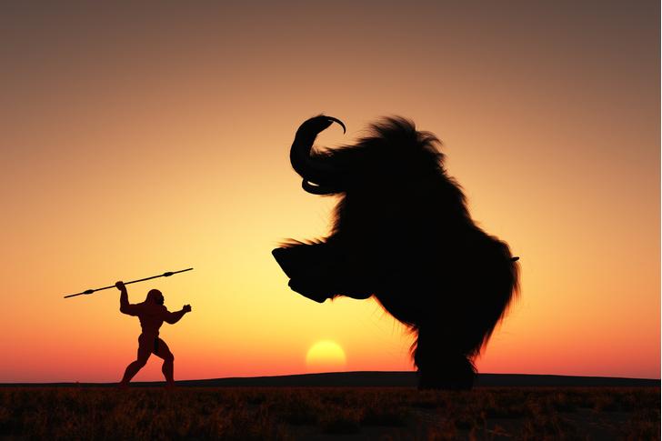 Фото №1 - Названа продолжительность жизни неандертальцев и мамонтов