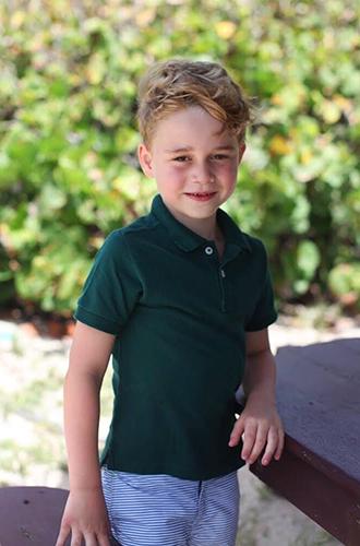 Фото №3 - Принц Джордж Кембриджский: шестой год в фотографиях
