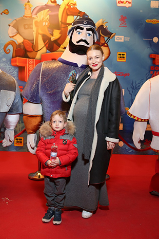 Акиншина Оксана с сыном