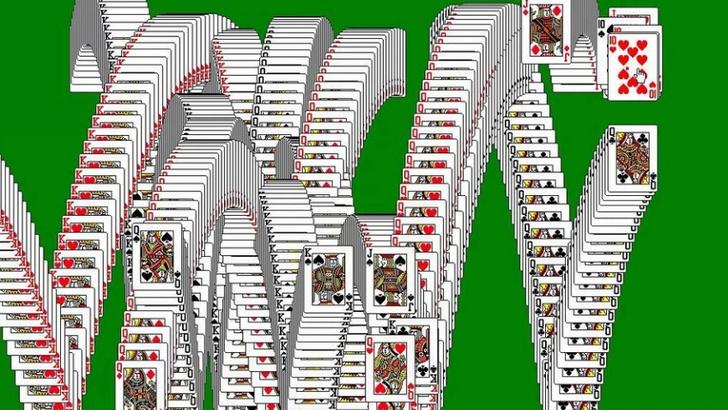 Фото №1 - 30 лет пасьянсу «Косынка»— одной из самых популярных компьютерных игр в мире