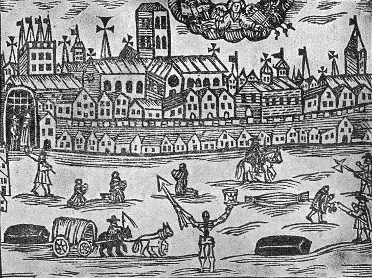 Фото №5 - Карантин по-средневековому: интересные факты о чуме
