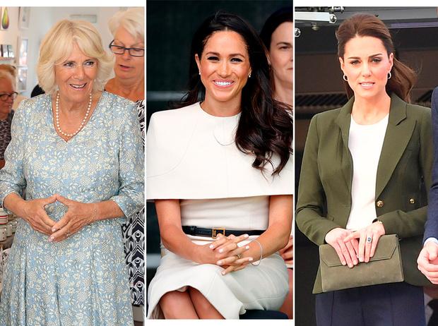 Фото №1 - Читаем по рукам: что говорят о Меган, Кейт и других королевских особах их руки