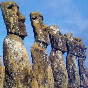 Фото №1 - С острова Пасхи похищают статуи