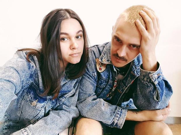 Ира Смелая и Илья Прусикин