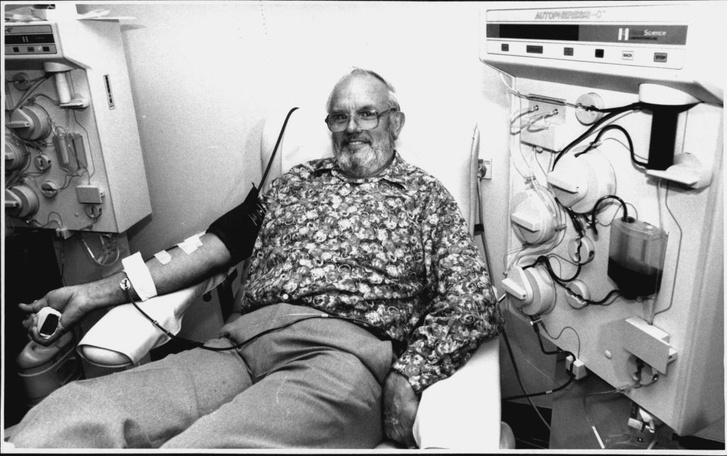 Фото №2 - Мужчина спас 2,4 млн младенцев благодаря уникальной крови