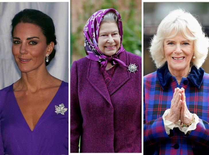 Фото №1 - Особое отношение: какой чести Королева удостоила Камиллу и Кейт (но не Меган)