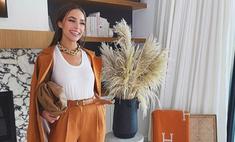 Самый модный способ носить брюки, как это делают все инфлюенсеры: на примере Оливии Калпо