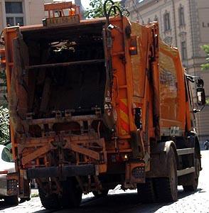 Фото №1 - За мусорщиками будет следить спутник-шпион