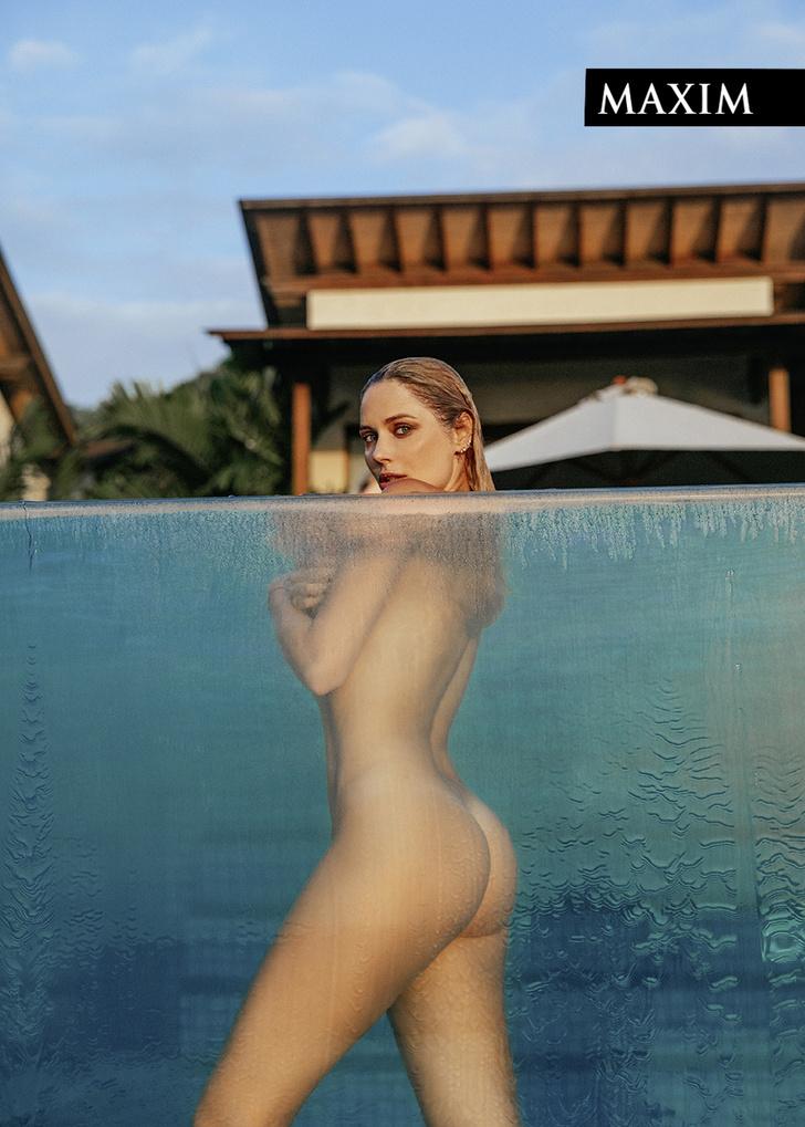 Фото №3 - Морская фигура: новая фотосессия Натальи Рудовой в MAXIM