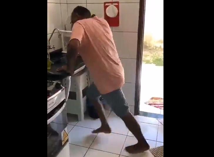 Фото №1 - Шуточный лайфхак: домашняя беговая дорожка своими руками (видео)