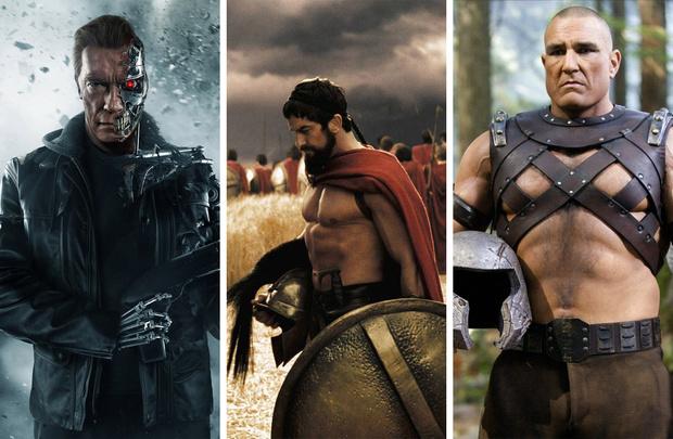Фото №1 - 9 актеров, которые носили фальшивые мускулы на съемках
