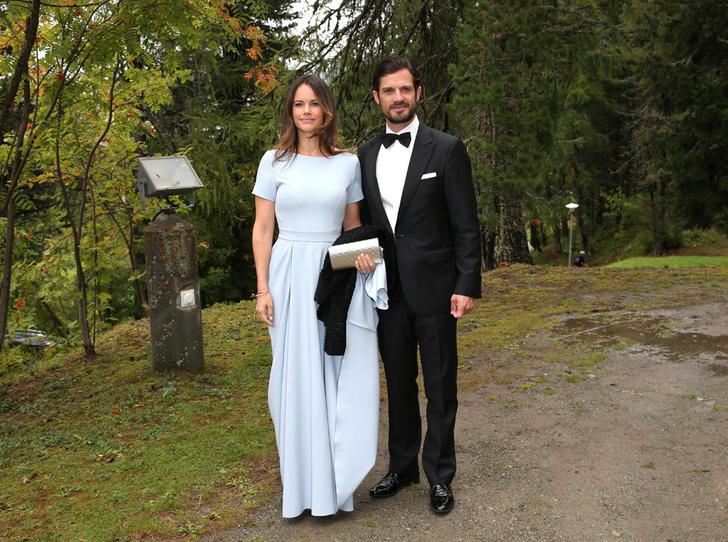 Фото №4 - Минус один принц: как прошла королевская свадьба в Швейцарии
