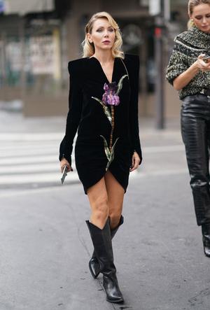 Фото №13 - С чем носить ковбойские сапоги: на каждый день, в офис и на вечеринку