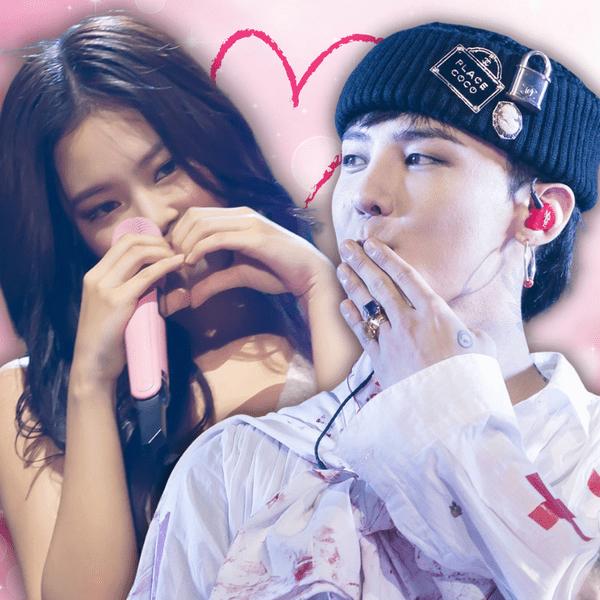 Фото №1 - Что на самом деле: встречаются или расстались G-Dragon и Дженни из BLACKPINK? 😎