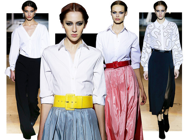 Фото №1 - Как носить блузку в холода: мастер-класс от Carolina Herrera