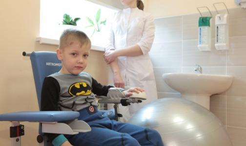 Фото №1 - В Детской больнице им. Раухфуса открылось отделение реабилитации