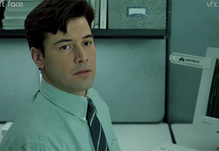 Фото №1 - Нейросети помогли создать пародию на «Матрицу», в которой Нео выбирает синюю таблетку и остается клерком (видео)