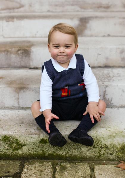 Фото №27 - Принц Джордж Кембриджский: три года в фотографиях