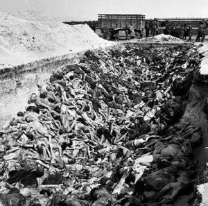 Фото №1 - В Берген-Бельсене открылся музей Холокоста
