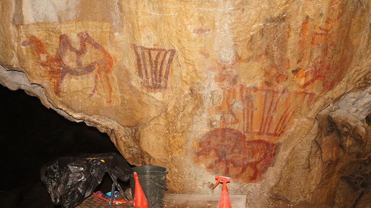 Фото №1 - На Урале обнаружено древнее изображение верблюда