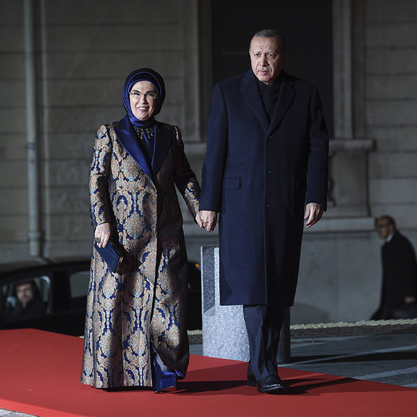 Фото №17 - Боги политического Олимпа: президенты и их жены на званом ужине в Париже