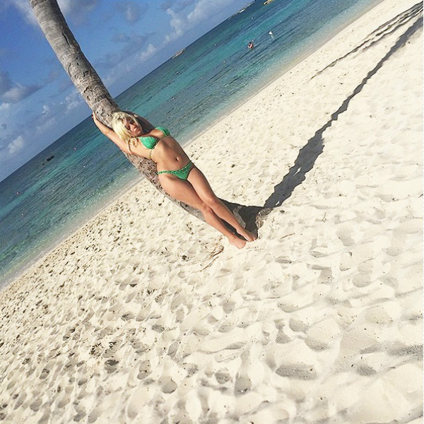Леди Гага на Багамах