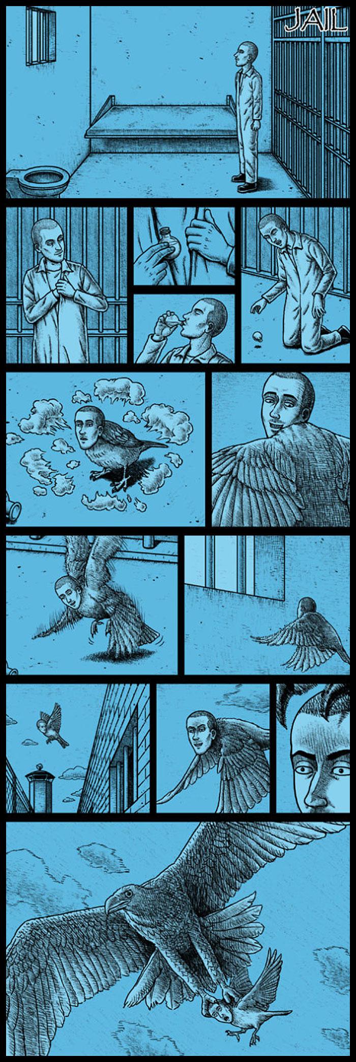 Фото №20 - 30 комиксов с отборным черным юмором от Бена Чена