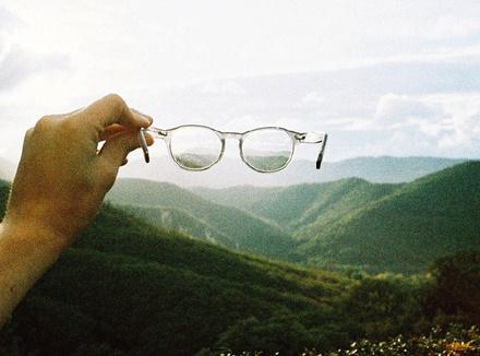 Пейзаж сквозь очки