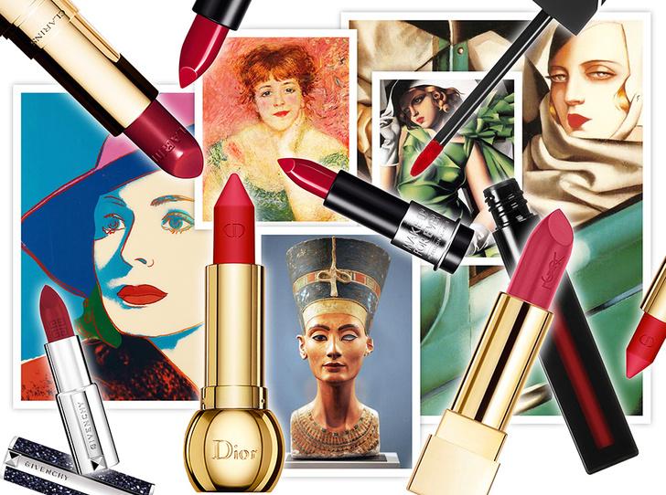 Фото №1 - Красная помада: прошлое и настоящее самого знаменитого make-up средства в истории