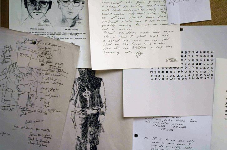 Фото №2 - По шрамам, краске, письмам: спустя полвека установлена личность маньяка Зодиака, закодировавшего себя в гениальном шифре