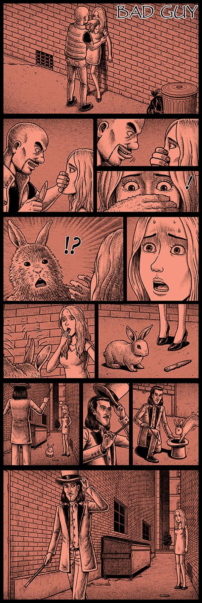 Фото №13 - 30 комиксов с отборным черным юмором от Бена Чена