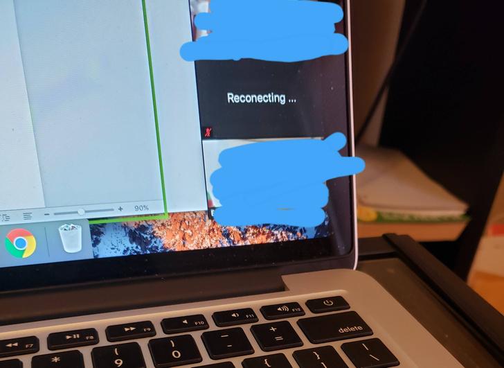 Фото №2 - Четвероклассник решил обмануть учительницу, чтоб не заниматься в Zoom, но его подвела досадная ошибка (фото)